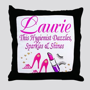 DENTAL HYGIENIST Throw Pillow